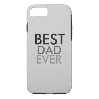 Capa iPhone 8/ 7 O melhor pai nunca