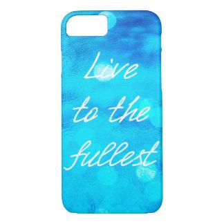 """Capa iPhone 8/ 7 O oceano azul """"vive"""" ao exemplo o mais completo do"""