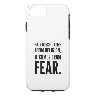 Capa iPhone 8/ 7 O ódio não vem da religião