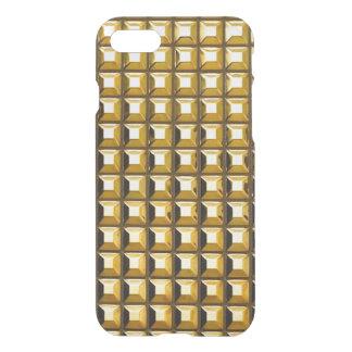 Capa iPhone 8/7 O ouro enche o caso claro do iPhone 7