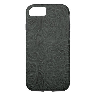 Capa iPhone 8/ 7 O preto utilizou ferramentas o país de couro do