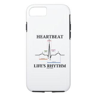 Capa iPhone 8/ 7 O ritmo da vida da pulsação do coração (ritmo