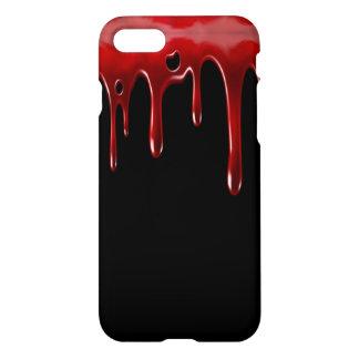 Capa iPhone 8/7 O sangue de Falln goteja o preto