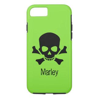 Capa iPhone 8/ 7 O Scull e os Crossbones pirateiam o caso conhecido