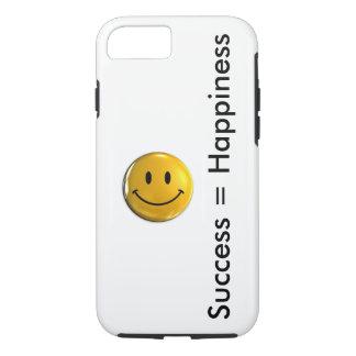 Capa iPhone 8/ 7 O sucesso é felicidade