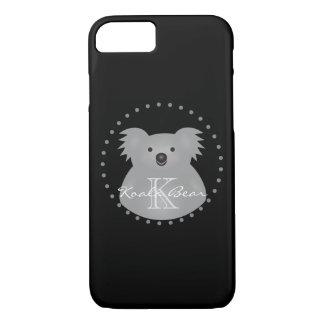 Capa iPhone 8/ 7 O urso de Koala australiano bonito adiciona seu