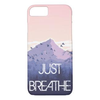 Capa iPhone 8/ 7 o ust respira o design da montanha