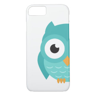 Capa iPhone 8/ 7 O verão inteligente 2017 da coruja