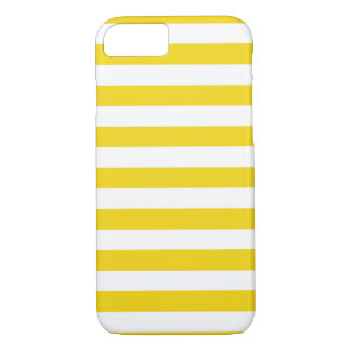 Capa iPhone 8/ 7 O verão listra o limão super - caixa amarela do