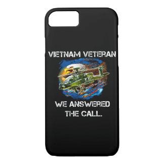 Capa iPhone 8/ 7 O veterano de Vietnam do caso do telemóvel