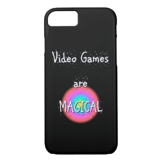 Capa iPhone 8/ 7 O video games é iPhone mágico de Apple 8/7 de caso