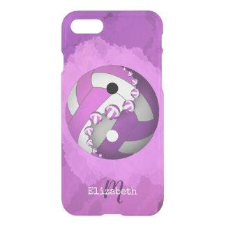 Capa iPhone 8/7 o yin das mulheres cor-de-rosa monogrammed e o