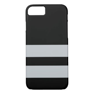 Capa iPhone 8/ 7 Oakland Black&Silver