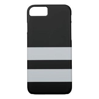 Capa iPhone 8/ 7 Oakland Black&Silver