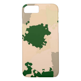 Capa iPhone 8/ 7 Oásis Camo do deserto