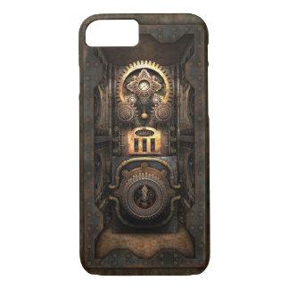 Capa iPhone 8/ 7 Objecto Infernal de Steampunk (fechado)