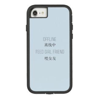 Capa iPhone 8/ 7 off line, namorada da alimentação
