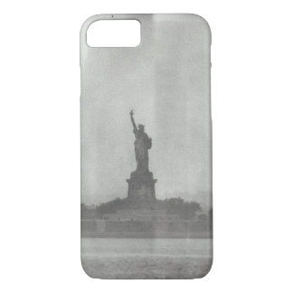 Capa iPhone 8/ 7 Olhar Iphone da placa molhada da estátua da