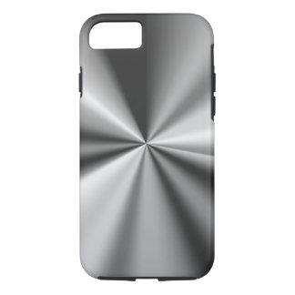 Capa iPhone 8/ 7 Olhar metálico do negócio dos homens