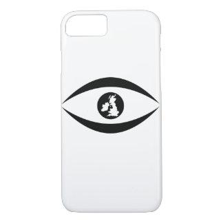 Capa iPhone 8/ 7 Olho britânico