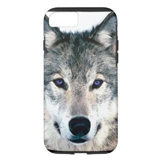 Capa iPhone 8/ 7 Olhos do lobo no animal selvagem da natureza das