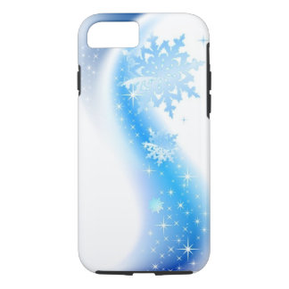 Capa iPhone 8/ 7 Onda do floco de neve