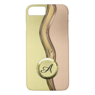 Capa iPhone 8/ 7 Ondas douradas