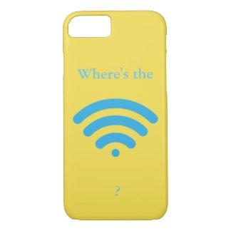 Capa iPhone 8/ 7 Onde está WiFi?