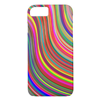 Capa iPhone 8/ 7 Ondulado colorido