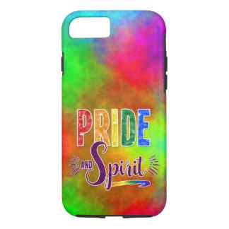 Capa iPhone 8/ 7 Orgulho do arco-íris e arte brilhantes e corajosos