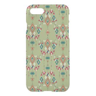 Capa iPhone 8/7 Ornamento asteca tribal étnico do vintage