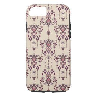 Capa iPhone 8/ 7 Ornamento asteca tribal étnico do vintage
