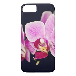 Capa iPhone 8/ 7 Orquídea cor-de-rosa fúcsia