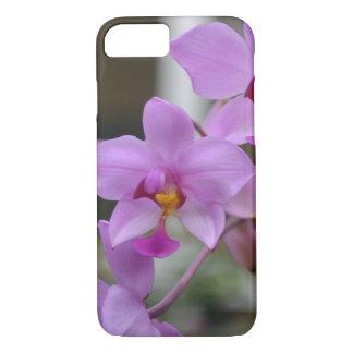 Capa iPhone 8/ 7 Orquídeas roxas