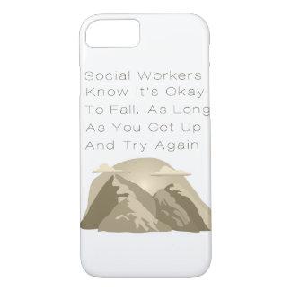 Capa iPhone 8/ 7 Os assistentes sociais sabem inspirador