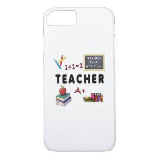 Capa iPhone 8/ 7 Os professores fazem-no com classe