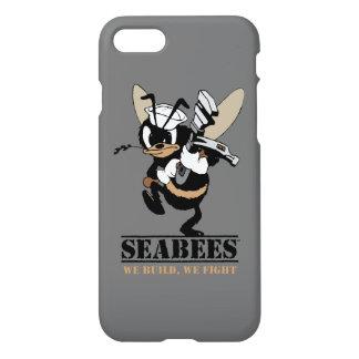 Capa iPhone 8/7 Os Seabees que nós nos construímos lutam o cobrir