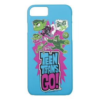 Capa iPhone 8/ 7 Os titã adolescentes vão! menino Shapeshifts do