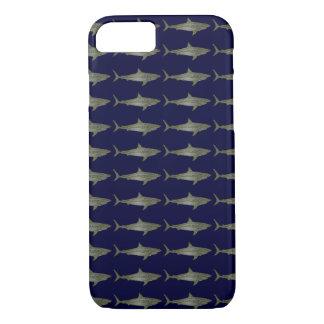 Capa iPhone 8/ 7 Os tubarões refrigeram o teste padrão