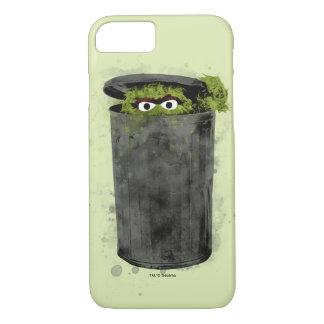 Capa iPhone 8/ 7 Oscar a tendência da aguarela do Grouch |