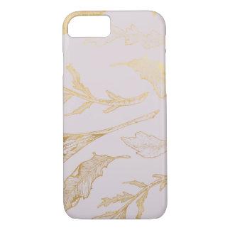 Capa iPhone 8/ 7 Ouro botânico