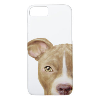 Capa iPhone 8/ 7 Ouro Brown do pitbull