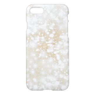 Capa iPhone 8/7 Ouro Sparkly do brilho