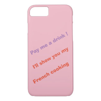 Capa iPhone 8/ 7 Pague-me uma bebida!