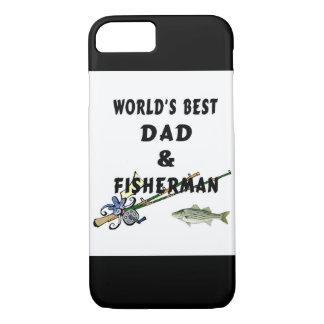 Capa iPhone 8/ 7 Pai do pai da pesca o melhor
