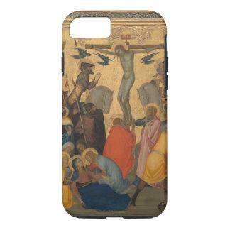 Capa iPhone 8/ 7 Paixão da pintura da crucificação do Jesus Cristo