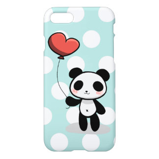 Capa iPhone 8/7 Panda com amor
