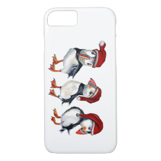 Capa iPhone 8/ 7 Papagaio-do-mar do Natal