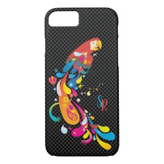 Capa iPhone 8/ 7 Papagaio multicolorido adorável