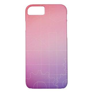 Capa iPhone 8/ 7 Papel de parede nas máscaras do rosa